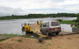 Ferry Crossing at Murchison Falls National Park