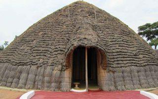 King's Palace Museum in Rwanda