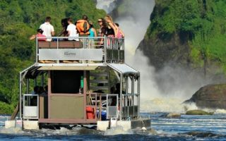 Launch Trips Boat Cruise in Murchison Falls