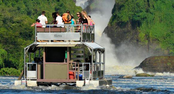 Launch Trips Boat Cruise in Murchison Falls