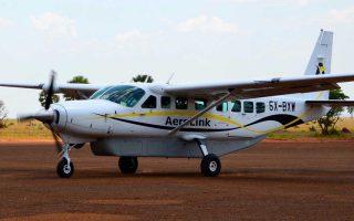 Bugungu Airstrip in Murchison Falls