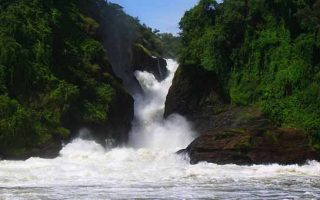 The Devil's Cauldron in Murchison Falls