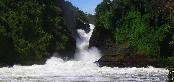 The Devil's Cauldron in Murchison Falls