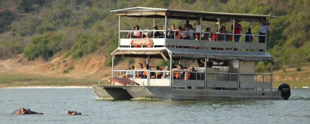 Boat Cruise Safari in Queen Elizabeth National Park